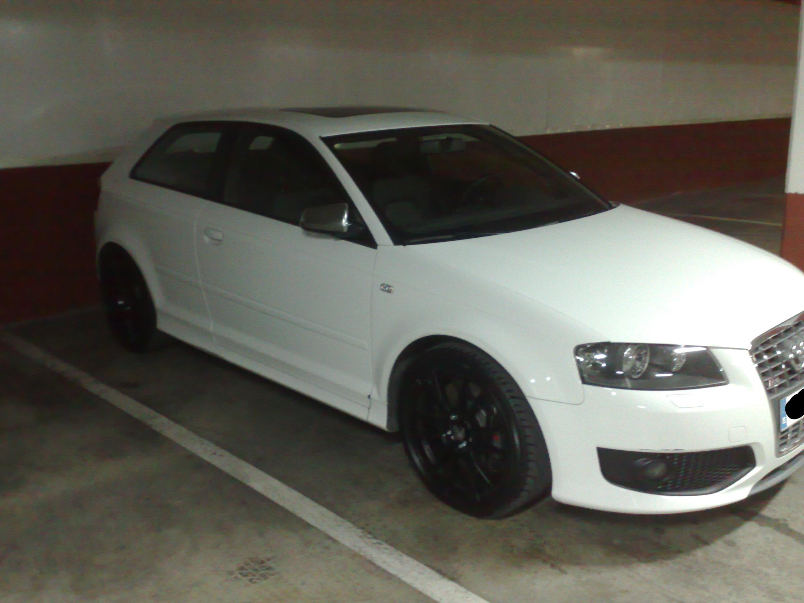 Mi S3 Blanco Con Llantas Oz Negras Audi S R Rs Audisport Iberica